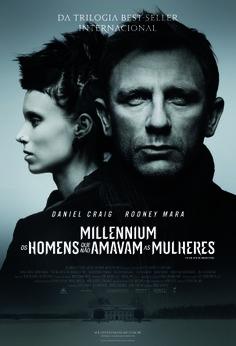 """Crítica de """"Millenium – Os Homens Que Não Amavam As Mulheres"""" para o site CineOpinativo."""