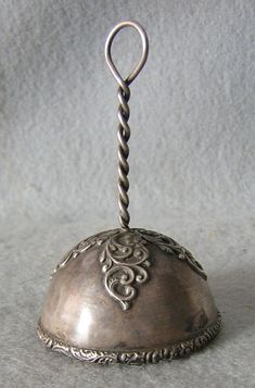 Antique Sterling Silver Dinner Bell