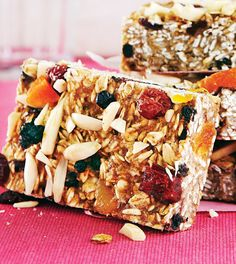 Blueberry Apricot Breakfast Bars - Clean Eating Magazine