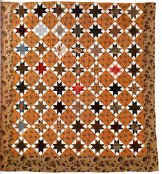 Ohio Star, c.1840, cotton, James Collection