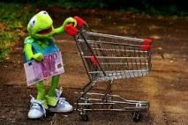 Free Image on Pixabay - Kermit, Shopping Cart, Shopping Cyber Monday, Best Coupon Apps, Rebate Apps, Grocery Shopping App, Checkout 51, Promotion, Advertising Networks, Save Money On Groceries