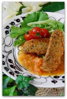 「鯵のフライオレガノ香るトマトソース添え」のレシピ by バリ猫さん | 料理レシピブログサイト タベラッテ