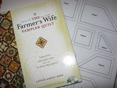 Farmers wife sampler quilt-link to print templates in 15 pages instead of one for every page.