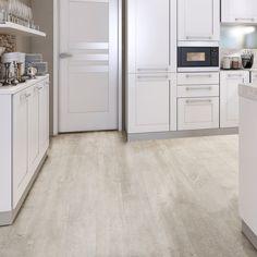 White Natural Oak Effect Waterproof Luxury Vinyl Click Flooring 2.20m² Pack | Departments | DIY at B&Q