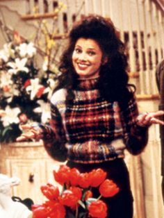 The flashy girl from flushing, the nanny named Fran!