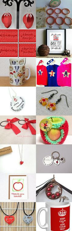 A little bit of Red by Katie kitty kat on Etsy--Pinned+with+TreasuryPin.com