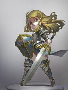 ArtStation - Knight, ㅇㅇ Joo