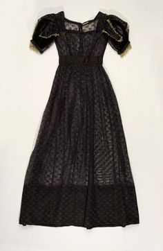 Object Name  Dress  Date  1821–22