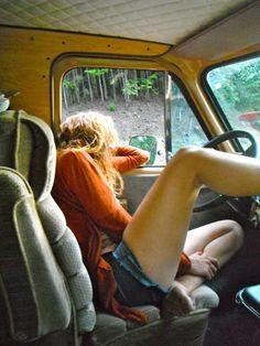 Op een gegeven moment (na een dag rijden) lig je er zo bij in de auto tijdens vakantie