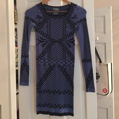 Intimately by Free People Angles Dress Long sleeve free people dress. Size XS/S but it is very stretchy. Bodycon Free People Dresses Long Sleeve