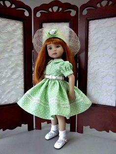 "Dress for Dianna  Effner 13"" Little Darling Doll by RRS 