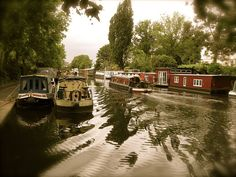 Little Venice - lovely place for a stroll and a nice break from the busy city