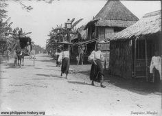 Vintage photo of Sampaloc Manila, Philippines Philippines People, Regions Of The Philippines, Philippines Culture, Manila Philippines, Historical Pictures, Historical Sites, Subic Bay, Filipino Culture, Cute Cartoon Wallpapers