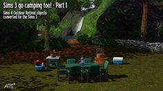 4 to 3 Outdoors Retreat Campground Part 1 - Sims 3 Downloads CC Caboodle
