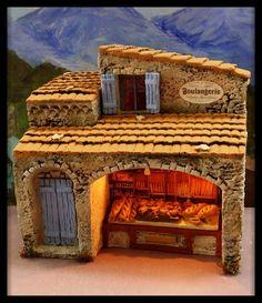 Santons Atelier de Fanny-Santons et Crèches de Noël-Santons de Provence - Magasin boulangerie - 54.00 EUR