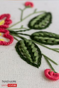 Floral Embroidery Art by Hand: Relaxing and Satisfying Crafts