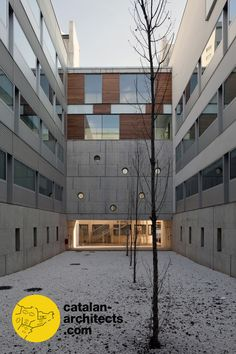 Phase II of the Extension of Prínceps d'Espanya University Hospital by PINEARQ (Photo © Juny Brullet) Refurbishment, Spotlight, Extensions, Barcelona, University, Architecture, Restoration, Arquitetura