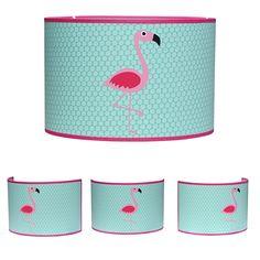 Lamp Flamingo mint roze