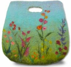 Magnificent Millicent Bag Feltmaking Kit via Gillian Gladrag