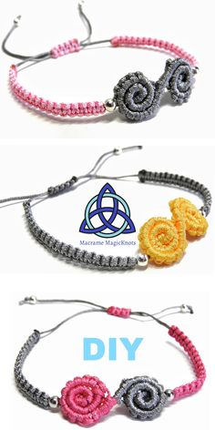 • In this Macrame tutorial video you will see how to make Easy Macrame Spiral Bracelet Diya #macrame #macramebracelet #jewelry #handmade #celtic #bracelet #craft #diy #howto #tutorial #crafty #idea #gift #menbracelet #youtube