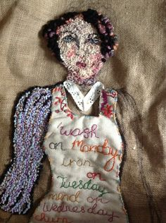 diane cox rug hooking | Inspired by Newlyn ancestors (credit: Diane Cox)