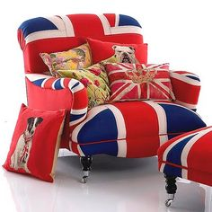 Overkill on the Union Jack but fun pic!