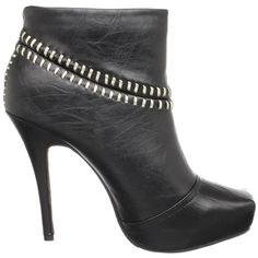 #Dollhouse Women's Sloan black  Ankle Boot #endless $31 on sale