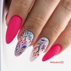 Stylish And Simple Nail Design Ideas - Wittyduck Really Cute Nails, Love Nails, Fun Nails, Pretty Nails, Short Nail Designs, Simple Nail Designs, Nail Art Designs, Ongles Or Rose, Milky Nails