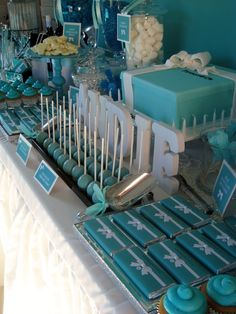TIFFANY & CO Birthday Party Ideas | Photo 4 of 16 | Catch My Party