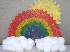 Cool project from www.kiwicrate.com/diy: Rainbow Noodles