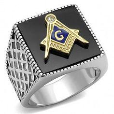 14k or jaune solide Diamond-Cut Franc-Maçon Masonic Charm Pendentif 1.6 G