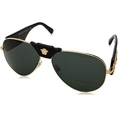 Find designer discounted sunglasses online for men, women and kids from the best fashion brands at Foxyshadez. Our sunglasses designers are from all over the world. Versace Sunglasses, Gold Sunglasses, Sunglasses Women, Discount Sunglasses, Sunglasses Online, Prada, Aviators Women, Versace Men, Grey And Gold