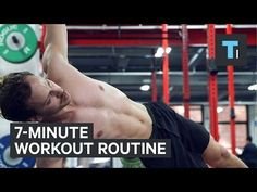 7-minute workout routine - YouTube
