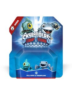 Skylanders Trap Team Gill Runt Thumpling Mini Character 2 Pack ** Click image for more details. Windows Xp, Skylanders Trap Team Figures, Xbox One, Mario Wii, Playstation, Animal Crossing Amiibo Cards, Sports Games For Kids, Nintendo Amiibo, Lego