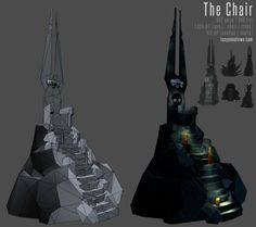 The chair. For sitting and the like. Part of an art test I did to get onto a masters at Gamer Camp Pro. Fingers crossed!