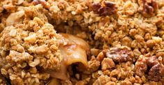 Apple Crisp Just Got Even Better And Even Easier! In going to use GF Oats & Cup4Cup GF flour for these!