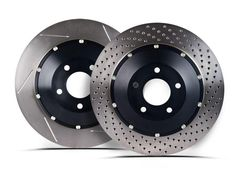 Stoptech 2003-2008 Nissan 350Z Brembo/ 2003-2004 Infiniti G35 w/ Brembo Brakes AeroRotor Slotted Rear Rotor (Set of 2)