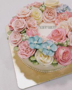 Blossom flower cake