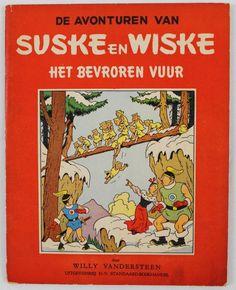 Suske en Wiske RV15 - Het bevroren vuur - sc - 1e druk (1952)  Vlaamse ongekleurde serie no. 15 in zeer goede staat.Eerste druk uit 1952.Binnenblok is heel mooi en zit nog origineel vast. Middenblad zit nog origineel vast.Zeer mooie staat.Items worden aangetekend verzonden.Kan eventueel ook afgehaald worden.  EUR 102.00  Meer informatie