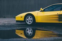 1984 Yellow Ferrari Testarossa