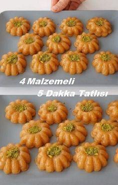 8 Minuten Dessert mit 4 Zutaten – Tavuk tarifleri – The Most Practical and Easy Recipes Armenian Recipes, Turkish Recipes, Easy Cake Recipes, Dessert Recipes, 4 Ingredient Desserts, Pastry Cake, C'est Bon, Food Presentation, Food Design