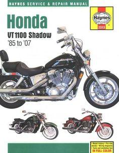 Honda shadow vt 600 service manual honda shadow service manual haynes honda vt1100 shadow v twins 85 to 07 service and repair manual fandeluxe Gallery