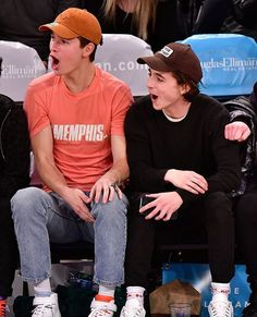 Timmy and Ansel Knicks Game 3/15/18