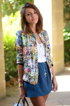 4 # INTERPRETATION ASSORTED ACCESSORIES - Floral Cardigan  Botanical Bliss trend - summer 2015 fashion