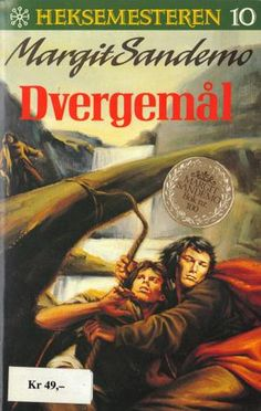 """Dvergemål"" av Margit Sandemo Fantasy Romance, Occult, Nostalgia, Reading, Books, Movies, Movie Posters, Libros, Films"