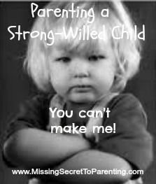 The Biggest Mistake a Parent of a Strong Willed Child Can Make! #Parenting