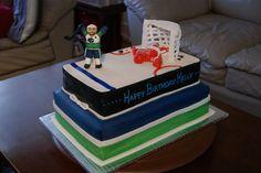 canucks fan birthday cake Happy Birthday, Birthday Cake, Vancouver Canucks, Wedding Ideas, Fan, Cakes, Desserts, Design, Happy Brithday