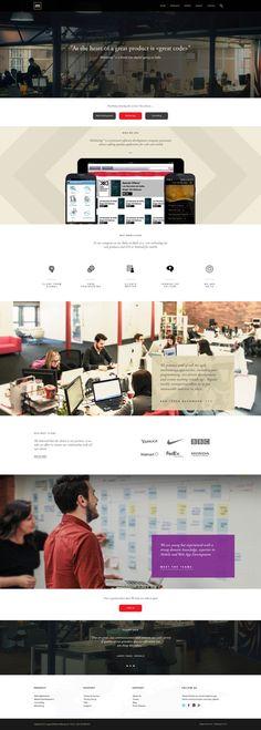 Mobilising™ - Digital Agency by Firman Suci Ananda, via Behance