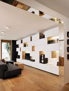 Mur de meubles