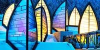 Berg Oase by Swiss architect Mario Botta, a spa addition to the Tschuggen Grand Hotel in Arosa, Switzerland Spa Design, Modern Design, Best Ski Resorts, Hotels And Resorts, Luxury Hotels, Marriott Hotels, Hilton Hotels, Luxury Accommodation, Top Hotels